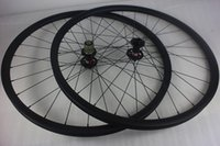 Wholesale 29er mm hookless MTB XC carbon wheelset mm depth Novatec D771SB D772SB disc hubs Pillar aero spokes in beadless carbone wheels