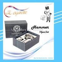 Cheap Wholesale-10pcs lot Hammer E Pipe Mod Mechanical E-Pipe Mod Electronic Cigarette E-Cigarette Battery Body Fit 18350  18650 Battery