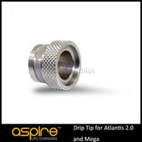 Replaceable metal o rings - 100 Original Aspire Drip Tip Adapter Rings Atomizers Accessaries O Ring Driptip Adapter For Aspire Atlantis V2 Mega Tank DHL