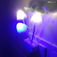 Wholesale Hot LED Night Light Avatar Mushroom Lamp with Plug for All Occasions Colorful Night Light for Christmas Light Decoration Baby Gift Led Light