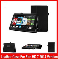Wholesale Stand Leather Case for Kindle Fire HD Tablet Kindle fire HD CASE