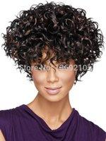Cheap High Quality Sherri Shepherd Hairstyle Miracurl Capless Synthetic Hair Wigs
