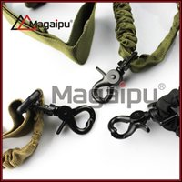 bungee cord - Single point pistol Gun Slings High Strength One Point Adjustable Sling Single Point Rifle Gun Bungee Cord Gun Sling