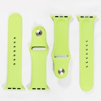 adapter band - 1 Original Design Silicone Band With Connector Adapter Clip For Apple Watch MM Silicone Strap For iPhone iWatch Sport Buckle Bracelet
