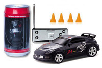 Wholesale Hot NEW Mini Coke Can RC Car Radio controlled super racing car pefect Christmas Gift children toy Gift