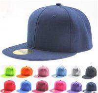 Wholesale Fashion Pure Color Hiphop Hat For Unisex DIY Blank Men Baseball Caps Outdoor Sports Hats Mix Colors