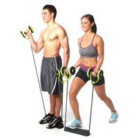 abdominal workout equipment - Body Abdominal Train resistance bands gym exercise Fitness equipment workout Strength Resistance Power Lifting Pull Wheels