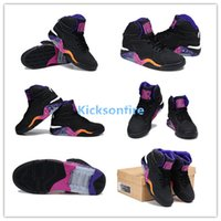 barkley charles shoes - 2012 Charles Barkley Air Force High Sneakers Men s Sports Basketball Shoes Black White Court Purple Rave Pink