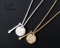Steel - 10pcs Whimsical Jewelry Simple Be brave and Keep Going With Word Statement Pendant Necklace For Women Stainless Steel Gold Plated Chain