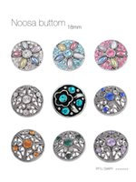 Wholesale 2016 New Noosa Nutton Fit mm Rivca Button Bracdelet Rivca Button For Noosa Bracelet Noosa Snaps Copper Button Noosa Chunk