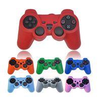 Contrôleur ps4 couvercle du boîtier Avis-Housse de remplacement en silicone pour PS3 PS3 PS4 PS3 Housse de protection en silicone pour PS3 Xbox360