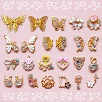 Wholesale 2015 High Quality D DIY Metal Nail Art Rhinestones Tip Decals Decoration Fashion Luxury Charm Jewelry Tools Styles