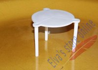 Wholesale 200pcs Disposable PP Plastic Pizza Tripods Tables Stands Tools Kitchen Restaurants Tools