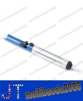 Wholesale NEW Suction Tin S Solder Suckers Desoldering Gun Desoldering Pump Soldering Iron Pen MYY15046