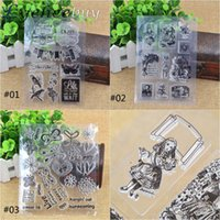 Wholesale Kawaii Cute Seal Small Rubber Stamp Clear Stamp for Scrapbooking DIY Craft