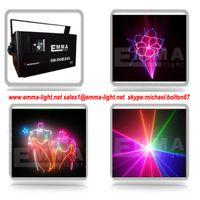 Wholesale 2w rgb Portable Projector Laser Stage Light DJ Disco karaoke KTV Show Party Lighting