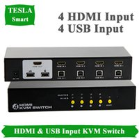 Wholesale New high quality ports USB HDMI KVM switch HDMI Switches support x1440 P