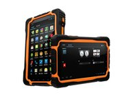 Wholesale Hugerock T70 inch Rugged Tablet PC with Quad Core GHZ CPU tablets android GPS navigation Mp Camera OTG Military computer pad