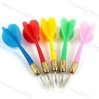 Wholesale PC Plastic Wing Darts Needle Kids Tone Dart Throwing Tip Steel Brass Toy