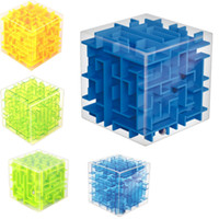 Wholesale New d Maze Magic Cube Toys For Children And Adult d Labyrinth Rolling Ball Baby Educational Toys