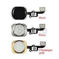 Wholesale Hot sell white for iPhone Plus Full home button include flex cable replacement Part