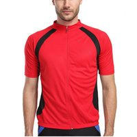 authentic sports apparel - New Fashion Brand Authentic Sports Apparel Men Bicycle Bike Short Sleeve T shirt Outdoor Sports TopsCycling Jersey Red