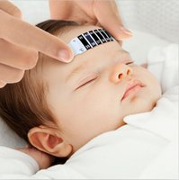 Wholesale DHL Family essential Feverscan thermometer digital forehead thermometer no mercury non toxic reusable bag