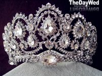 Cheap Tiaras&Crowns Rhinestone Wedding Tiaras Best Rhinestone/Crystal  Hair Accessories