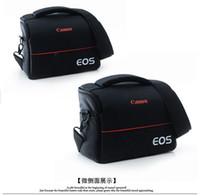 Cheap Camera bag Rrain Cover Shoulder bag Canon digital camera bag 600D 700D 70D 5D 360D Seismic Photography DHL Free shipping