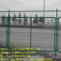 Wholesale Powder Coated Wire Mesh Fencing For Retianing Wall