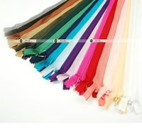 Wholesale Invisible zipper CM length Back cushion Skirt Hidden Zipper DIY Material for sewing Garment accessories Nylon