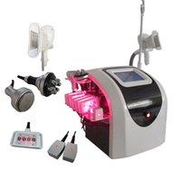Wholesale 4 in1 Cryolipolysis multipolar polar RF K Cavitation lipo laser professional salon slimming machine cryolipolysis machine