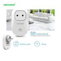 Wholesale Orvibo S20 Smart Intelligent Wireless Power AC V ABS White for iPhone Andriod Smartphone home Smart Home Control Business