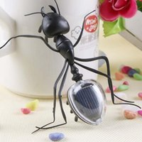 Wholesale New Cute Children Toys Solar Toys Solar Powered Mini Ant Educational Teaching Toy For Kids Gift