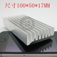 Wholesale Cooler MM heatsink high quality aluminum heat board electronic radiator chip heat sink computer