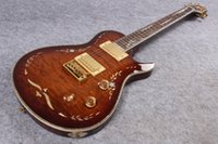Wholesale New Arrival Chris Henderson Model with special graphic abalone binding Electric Guitar