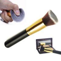 angled blusher brush - New HOT PS brand brushes F80 Flat Angled Kabuki Duo Fibre makeup brushes