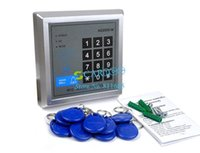 Wholesale 6pcs RFID Proximity Entry Lock Door Access Control System AD2000 M with Keyfobs