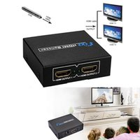 HDMI amplifiers hdmi splitter - 1080P HDMI to Female Splitter Amplifier Repeater Switcher Box Hub HMP_59C