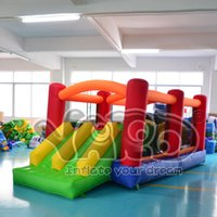 Wholesale YARD high quality inflatable obstacle course bounce house jumper moonwalk with blower