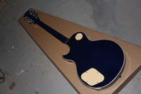 ace stocks - belief14 Hot new guitar mahogany body piuckup LP Ace Frehley Signature blue electric guitar In stock
