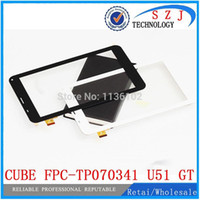 Wholesale 7 quot inch CUBE talk x external screen capacitive touch screen U51GT touch panel FPC TP070341u51gt