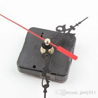 Wholesale 1Pc Black Stitch Movement Quartz Clock Movement Mechanism Repair DIY Tool Kit L0192579