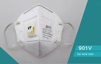 Wholesale Protective masks like m V V V mist respirator particulate PM Sanitary Face masks width ant dust valve