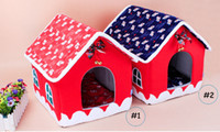bell tent accessories - Christmas Cute Fabric dog house small bell Dog House Dog houses Fold away dog house Small House Dog Cage
