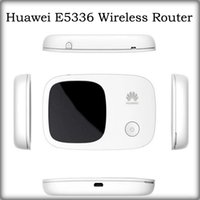 Wholesale Original Unlocked Huawei E5336 Wireless Router Mobile Wifi Hotspot Support Wifi Users Mbps G HSPA GSM SIM Card Wireless Router