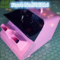 Wholesale Pink Bubble Machine Large Two wheel Remote Control Bubble Machine Show Props Bubble Machine