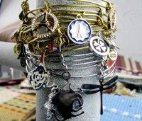 alex color bag - 2015 New Cool Alex and Ani style Multi Color Lucky Bag Design charm Bangles Bracelet Alloy Charm Bracelets and Bangles Bag charm Bracelets