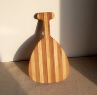 Wholesale 100 Bamboo Lute shape Cutting Board Chopping Blocks Kitchen Wares