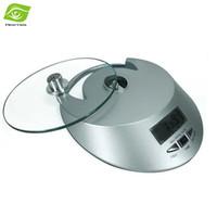 Hogar desmontable Mini digital portátil Cocina Electronic Scales digital de cocina Alimentación Escala vidrio templado balanza de cocina, dandys